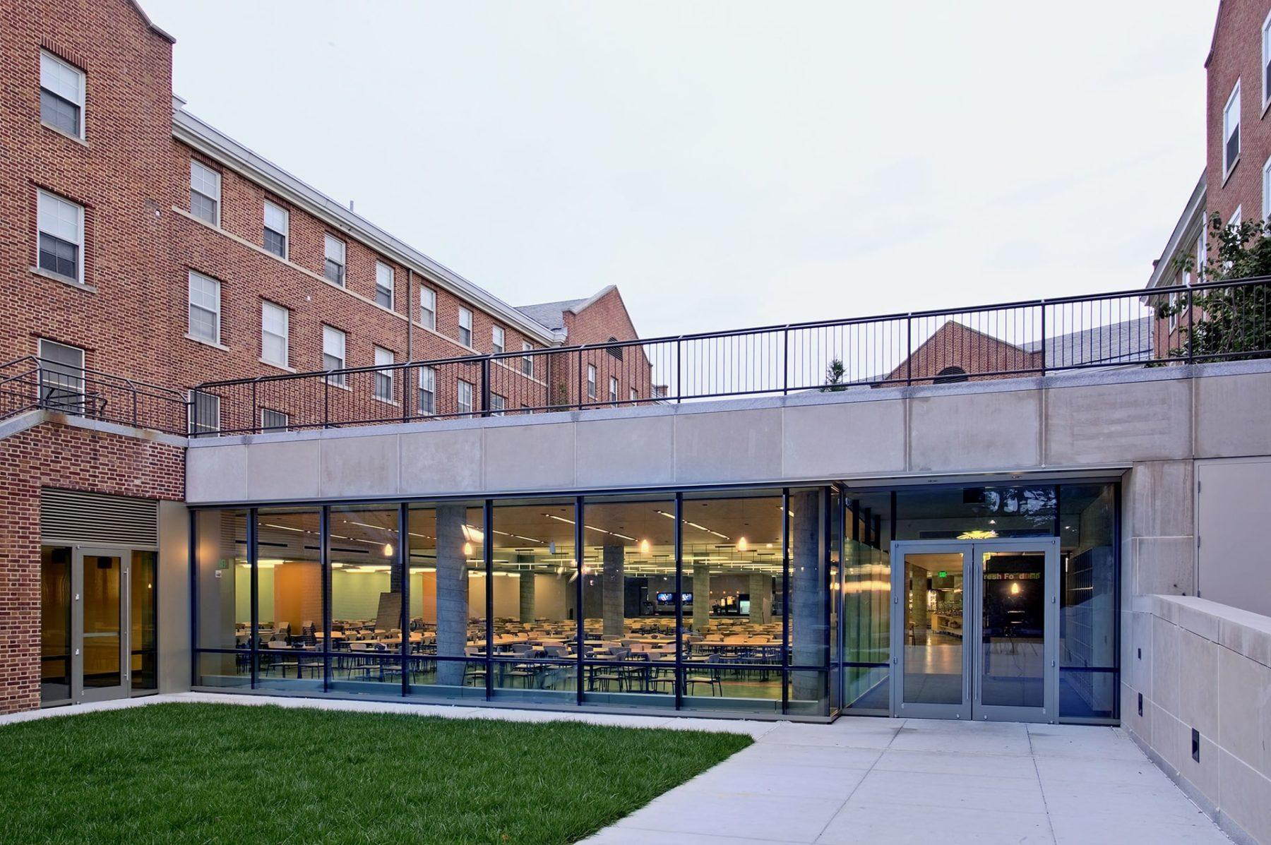 Johns Hopkins University Terrace Court Café