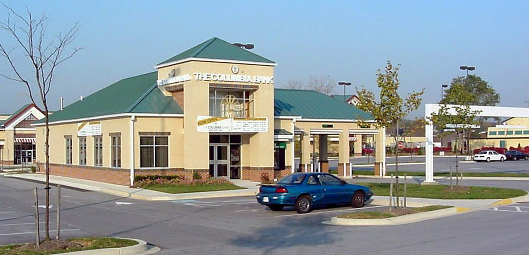 Columbia Bank Branch