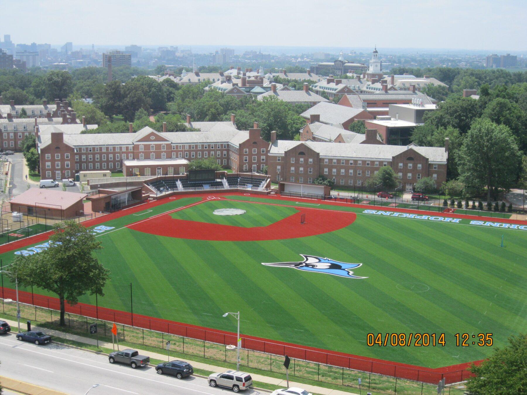Johns Hopkins University Baseball Field and Facilities